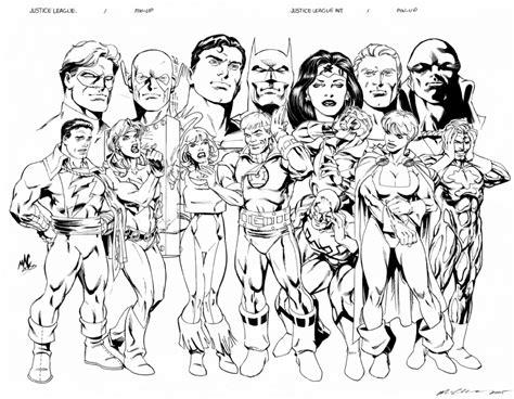 disegni da colorare della justice league justice league coloring pages getcoloringpages