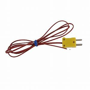 Type K Thermocouple Wire Lead For Digital Thermometer