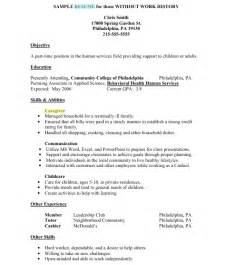 work history on resume caregiver exle of caregiver resume sles