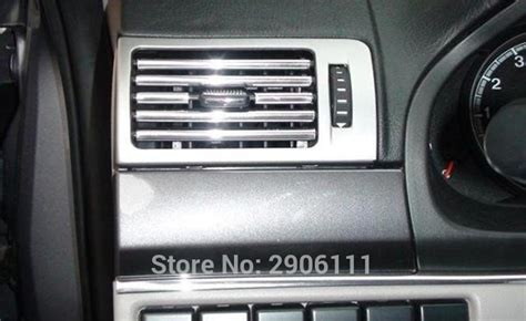 auto air conditioning service 2002 land rover discovery parking system 3m u style decoration strip grille chrome car automotive air conditioning outlet for land rover