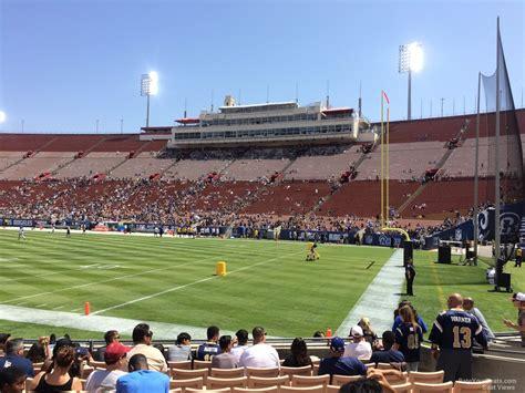 Los Angeles Memorial Coliseum Section 18 Rateyourseatscom