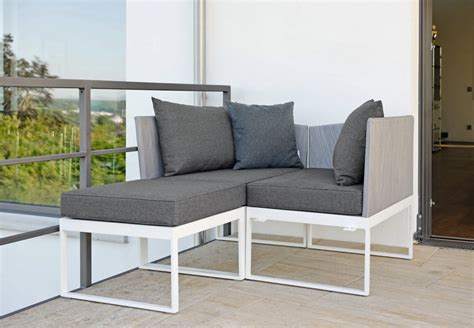 Outdoor Chairs For Balcony by Balcony Multi Function Sectional Sofa Berg Stock Couture