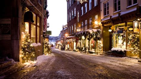 Christmas City Wallpapers  Hd Wallpapers Pulse