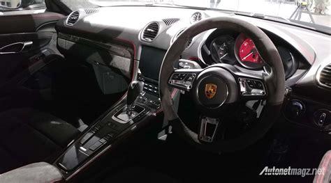 Gambar Mobil Porsche 718 by Porsche 718 Cayman Gts Interior Autonetmagz Review