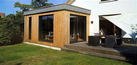 agrandissement cuisine extension bois agrandissement maison 44 woodéal