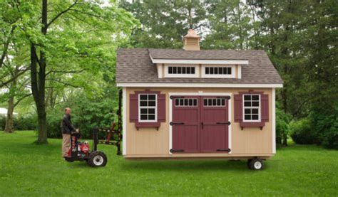 prebuilt shed delivery and onsite shed installation