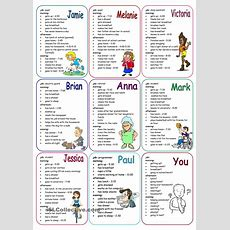 Daily Routines Speaking Cards  Learn English  Teaching English, English Exercises, English Lessons