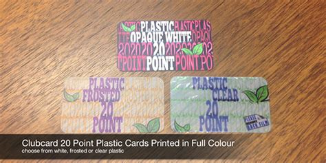 plastic business card  postcard printing  clubcard