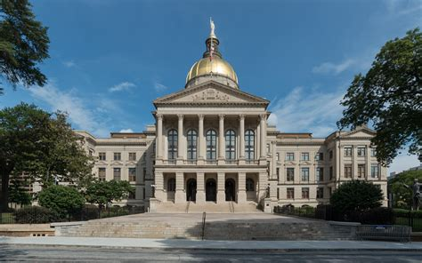 File:Georgia State Capitol, Atlanta, Northwest view ...