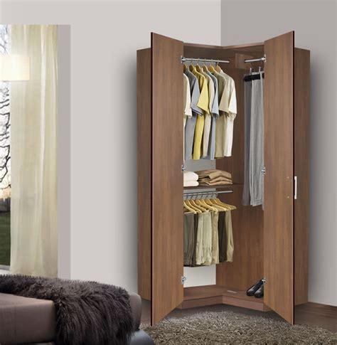 Corner Wardrobe by Corner Wardrobe Corner Closet W Three Hangrods