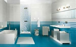 Farbe Für Bodenfliesen : 20 beispiele f r blaue bodenfliesen im badezimmer ~ Michelbontemps.com Haus und Dekorationen