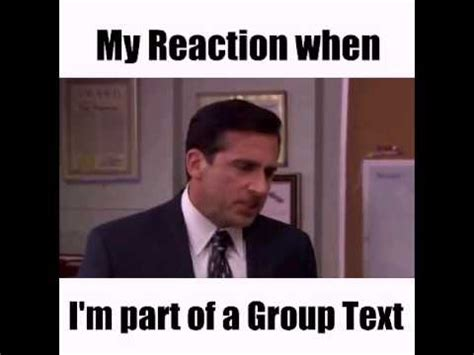 Group Text Meme - group text chat annoying youtube