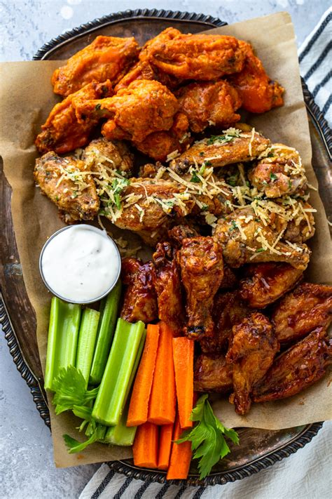wings chicken fryer air crispy ways bbq recipes fried buffalo dinner honey wing gimmedelicious delicious cooking eating super garlic healthy