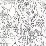 Colouring Fabric Patterns Childish Activity Monster Insects X10cm sketch template