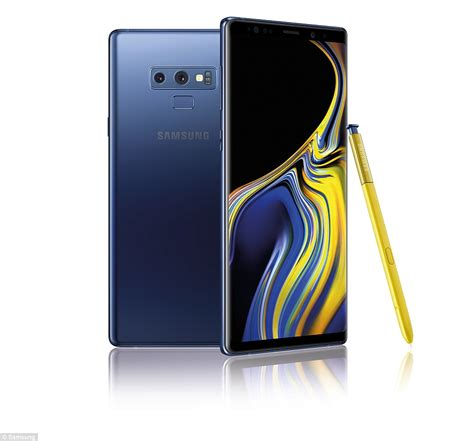 samsung galaxy note 9 price release date specs revealed daily mail