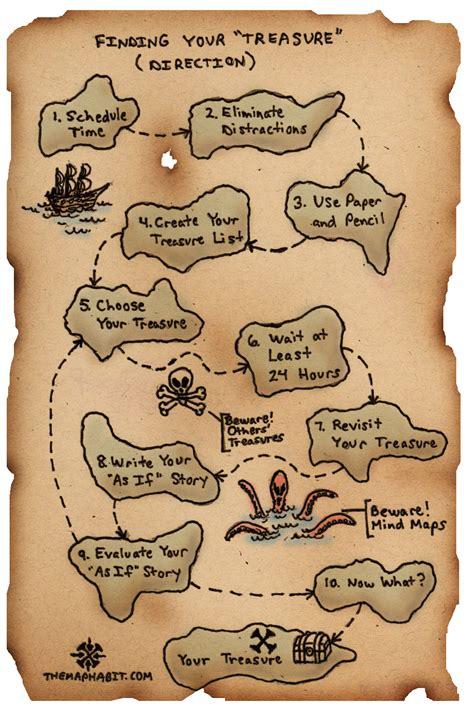 treasure map outline   clip art