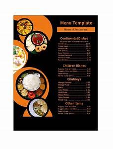 30 Restaurant Menu Templates  U0026 Designs  U1405 Template Lab