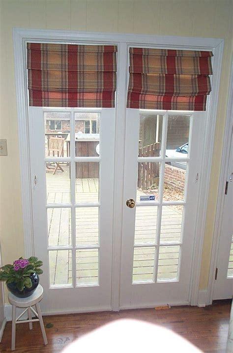 Roman Door Blinds & Catchy Roman Shades For Patio Doors