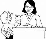 Teacher Coloring Appreciation Week Thank Colouring Sheets Cards Printable Boy Pdf Coloringfolder sketch template