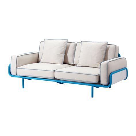 canapé bleu ikea salon mobilier de salon ikea
