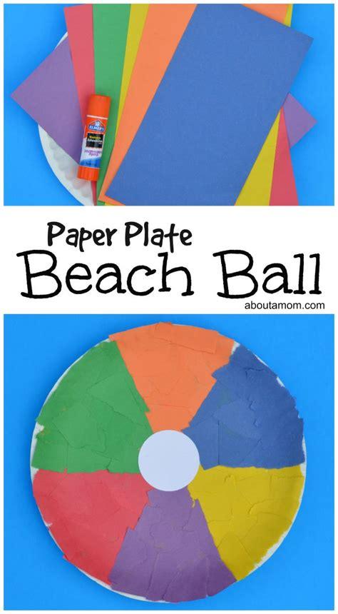 best 25 crafts ideas on field day 471 | 63eb24e42ec7ff98a81c099bd5512e3d preschool crafts beach ball craft preschool