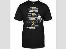 Real Madrid Club Toni Kroos Karim Benzema TShirt TeeNavi