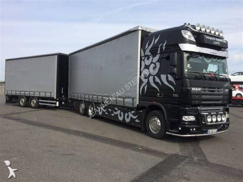 camion remorque daf rideaux coulissants plsc xf105 510