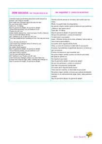 Tool Shed Traduccion Al Espaol by Letras De Canciones Ingles Espa 241 Ol