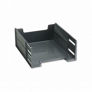 Rubbermaid stackable high capacity front load letter tray for Rubbermaid stackable high capacity front load letter tray