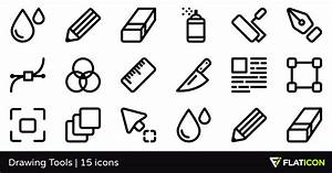 Drawing Tools 15 Free Icons  Svg  Eps  Psd  Png Files
