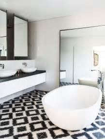 white tile bathroom design ideas black and white bathroom wall tile designs