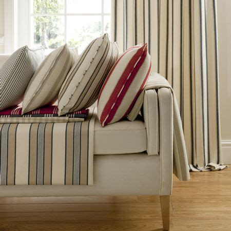 ticking stripes fabric collection clarke  clarke