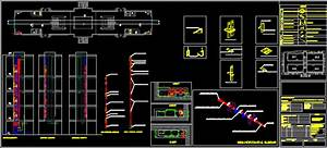 Cable Lighting Systems Bus Bar Installation Details En Autocad Cad 1 3 Mb