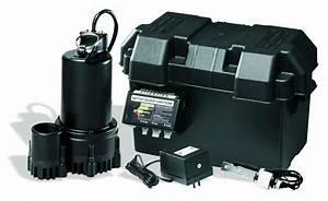 Backup Battery Operated Sump Pump Installation  U0026 Repair In