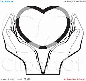 Holding Hands Clipart in Black And White – 101 Clip Art