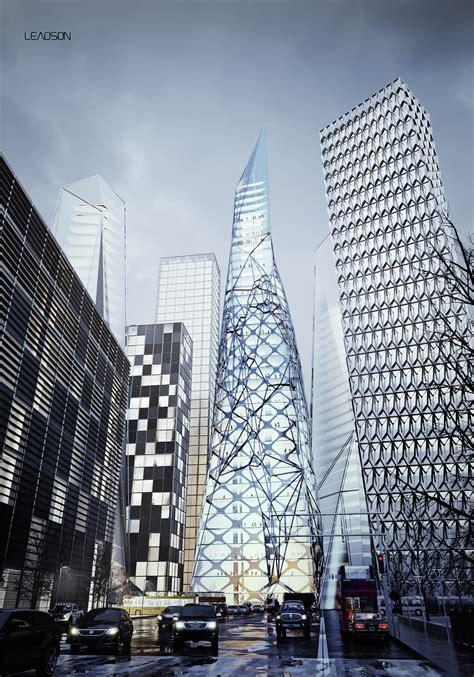Concept Skyscraper on Behance