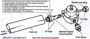 Fuel Regulator Installation Diagram