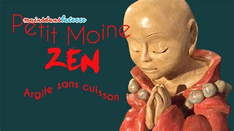 apéro rapide sans cuisson sculpture moine zen argile sans cuisson timelapse pottery sculpture clay