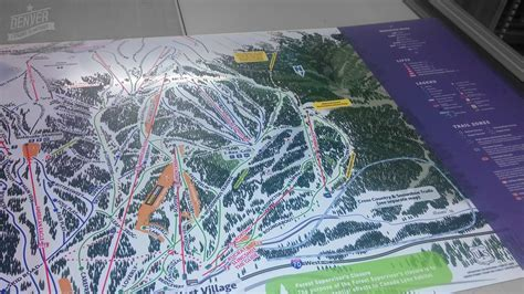 Copper Mountain   Trail map signs   Denver Printing Company