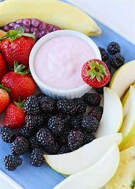 Strawberry Yogurt Fruit Dip
