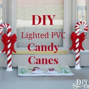 diy show  diy christmas candy canes  lights