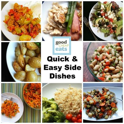 easy side dishes quick and easy side dishes side dish recipes