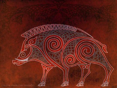 Celtic Desktop Boar By Avocadoart On Deviantart