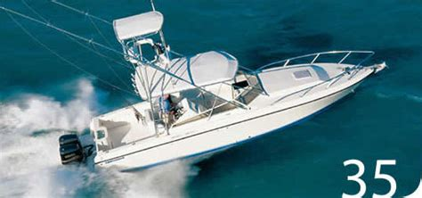 Contender Boats Photos by Research 2011 Contender Boats 35 Side Console On
