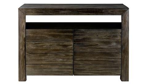 meuble sous vasque teck 2 portes 1 niche meuble vasque pas cher