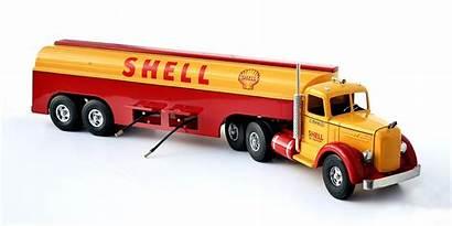 Tanker Shell Truck Gasoline Miller Smith Showroom