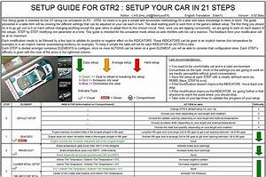 Setup Guide  Setup Your Car In 21 Steps