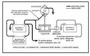 25 How To Wire A Battery Isolator Diagram