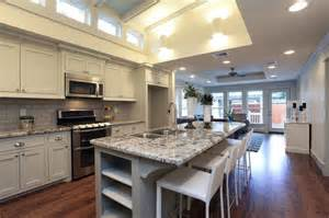 Kitchen Island Heights Heights Bungalow Remodel Craftsman Kitchen Houston By House Design