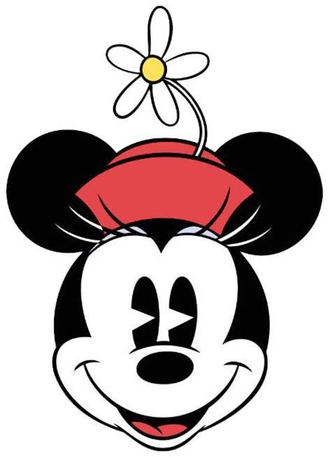 minnie mouse black face  clip art